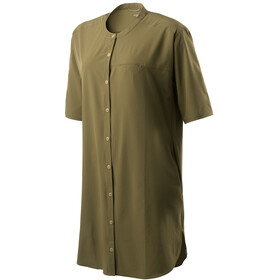 Houdini W's Trail Shirt Dress Needle Green